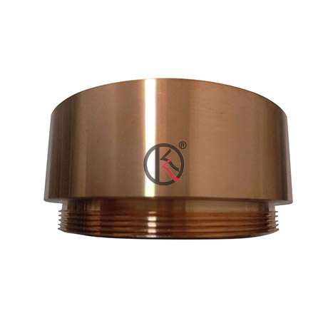 Customerized shape and size Copper sputtering target made by China manufacturer